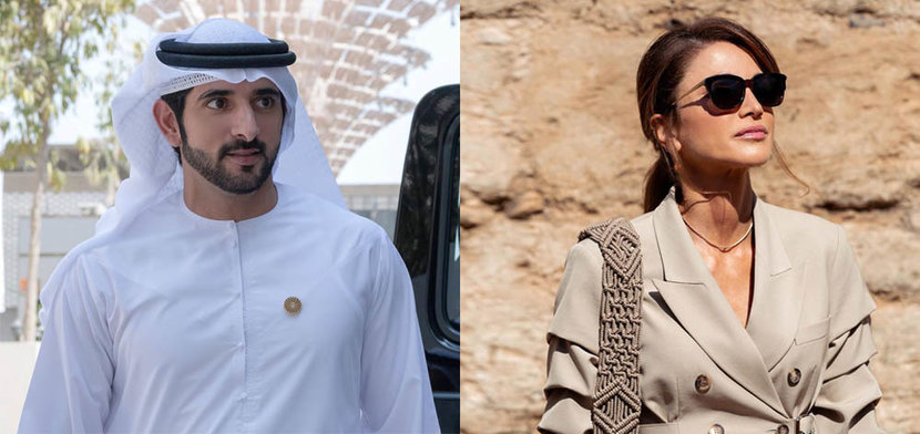Prince Hamdan and Queen Rania top most-followed Royals list ...