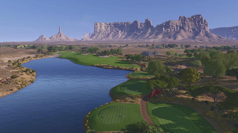 Golf Course, Saudi, Riyadh, Qiddiya, Jack Nicklaus