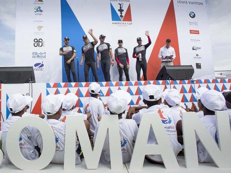 2016 Louis Vuitton Americas Cup World Series, The LandRover BAR team
