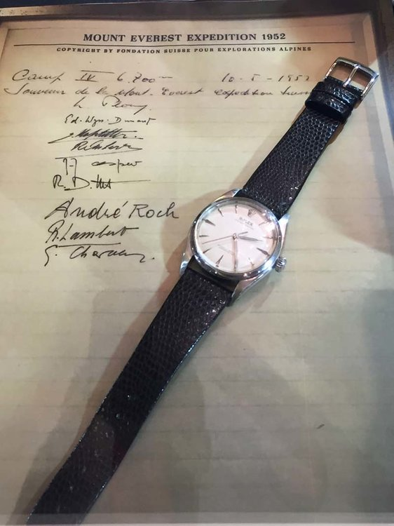 1950s Rolex Explorer