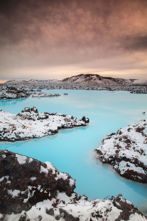 BLUE LAGOON, ICELAND - Located southwest of Reykjavik, Iceland's famous Blue Lagoon gets its trademark color from the silica-rich waters that feed it. And it isn't just pretty—the geothermal water is great for your skin too.