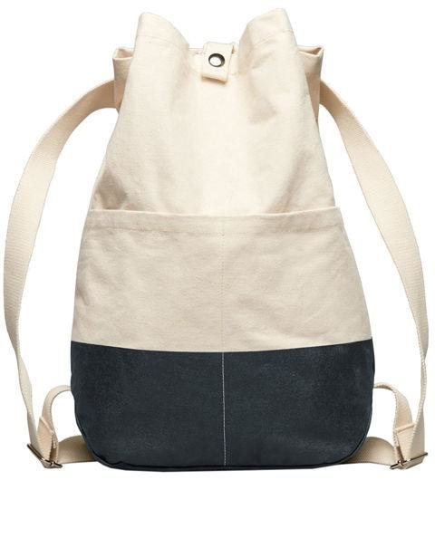 EVERLANE - The Beach Canvas Backpack - A canvas backpack is right on trend with all of your summer outfits. AED150. everlane.com