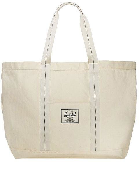 HERSCHEL SUPPLY CO. - Bamfield Tote - This spacious, cream bag is the quintessential beach accessory. AED330, bloomingdales.com
