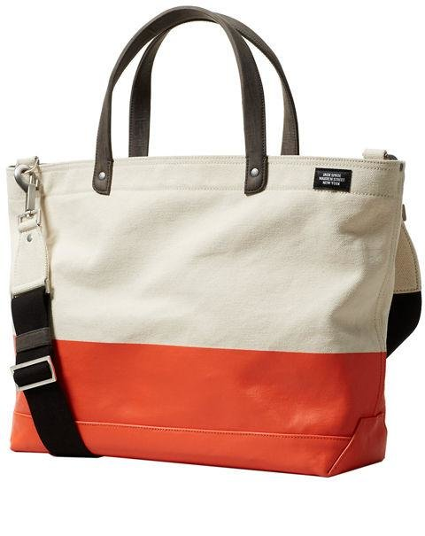 JACK SPADE - Dipped Coal Bag - This dip-dyed option works wonders for weekend getaways or day trips to the beach. AED840. jackspade.com