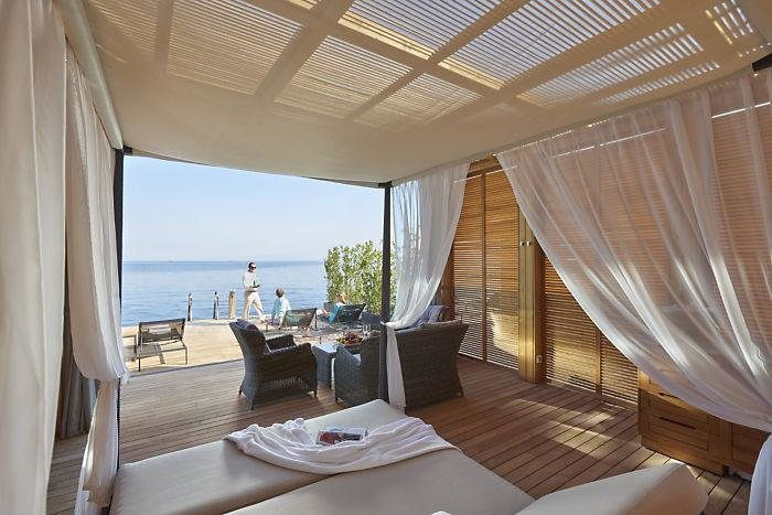 Private Beach Cabana